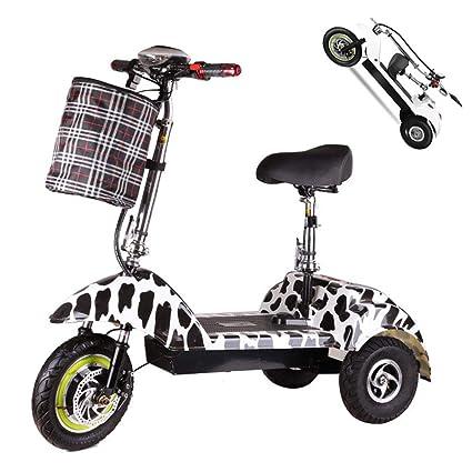 Z-HBMT Triciclo eléctrico Adulto,Scooter 3 Ruedas para ...