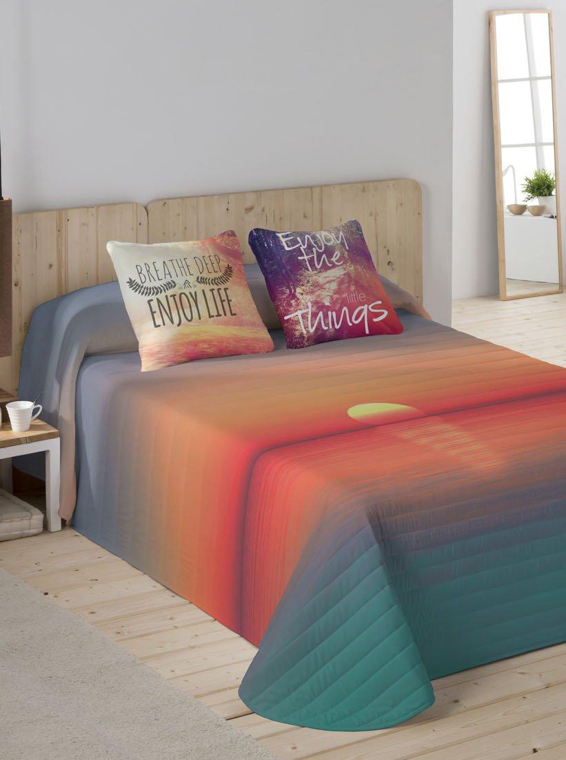 NATURALS Couvre-lit Sunset Multicolore pour lit de 90/ 180/x 260/cm
