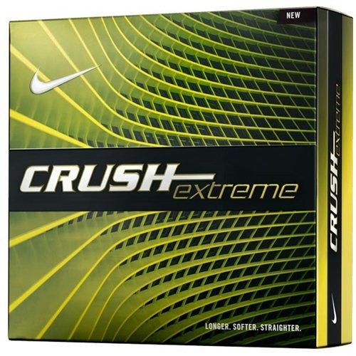 Nike Golf GL0708-101 Crush Extreme 16 Bi-Ling White Ball by Nike Golf