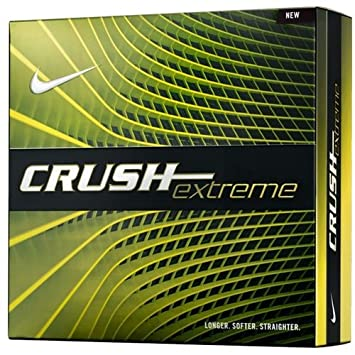 Nike Golf GL0708-101 Crush Extreme 16 Bi-Ling White Ball