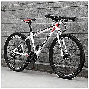 61Y8abajaML. SS300 26 Pollici 21 velocità, Adulto Bicicletta MTB, Bicicletta, Bicicletta Mountain Bike, Biciclette, Doppio Freno A Disco…
