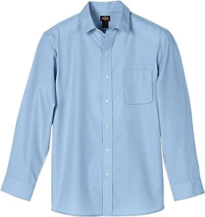 Dickies Camisa de vestido Ejecutivo de manga larga para hombre
