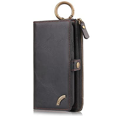 Leather Wallet Phone Case iPhone 7 6 6s 8 Plus X XS Max XR Samsung Galaxy  S7 Edge S8 S9 Plus + Note 8 9 9eab0b5e24f4