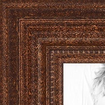 ArtToFrames 16x20 inch Walnut Stain Wood Picture Frame, WOM0066-81375-YWAL-16x20