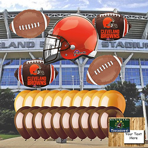 Cleveland Browns Balloon Set