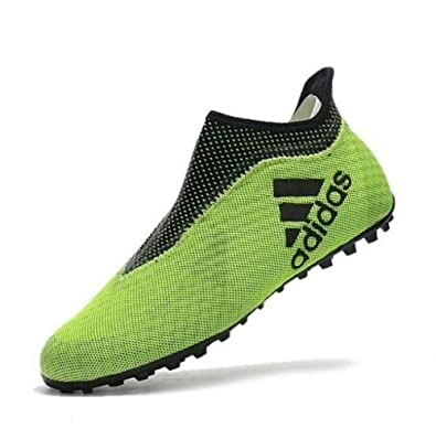 watch 57cc5 0a360 adidas Mens X Tango 17+ PURESPEED Turf Shoes (YellowLegend Ink) (