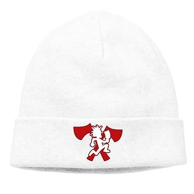 48362db413b MUtang Ogbcom Hatchetman ICP Logo Skull Hats Knitted Cap Beanie Black at  Amazon Men s Clothing store