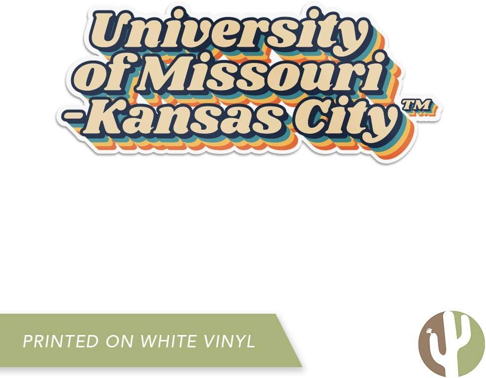 University of Missouri-Kansas City UMKC Kangaroos NCAA Vinyl Decal Laptop Water Bottle Car Scrapbook 70s Name Sticker