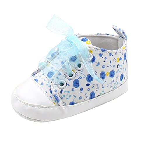 Newborn Baby Girl Shoes First Walkers Lovely Sneakers Infant Kids Girls Floral Leopard Toddler Baby Shoes 0-18 Months Baby Shoes