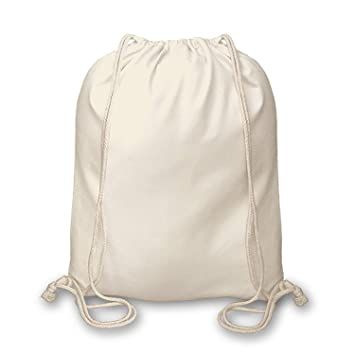 c9eec0418 Pack of 10 Premuim Plain Natural Cotton Shopping School Bags Rucksacks  Drawstring School Gym PE Book