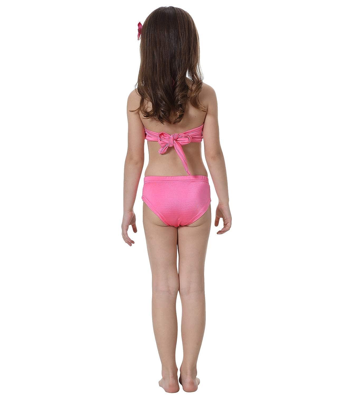 Le SSara Sea-Maid Maillots de Bain sir/ène Shell Maillot de Bain 3pcs Ensembles Bikini Filles
