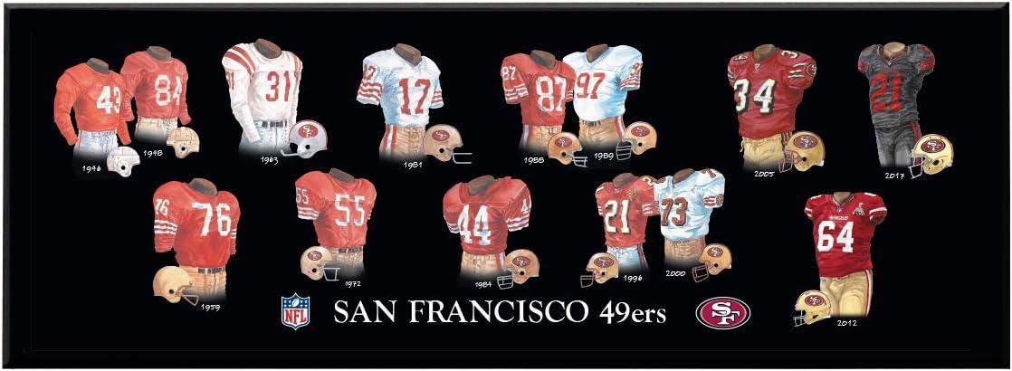 Winning Streak NFL Legacy Uniform Plaque