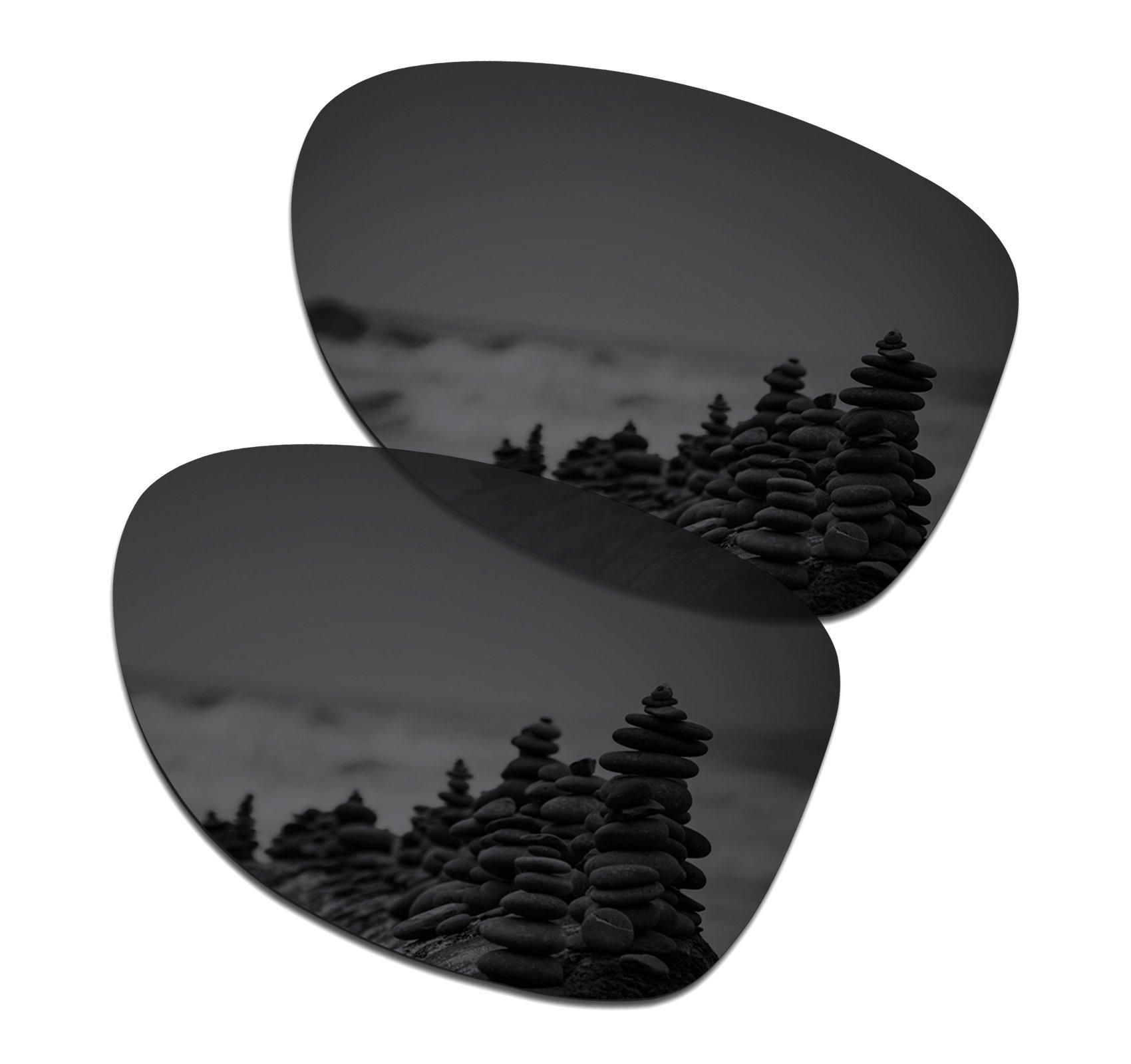 SmartVLT Men's Stealth Black Replacement Lenses for Oakley Dispatch 2 Sunglass