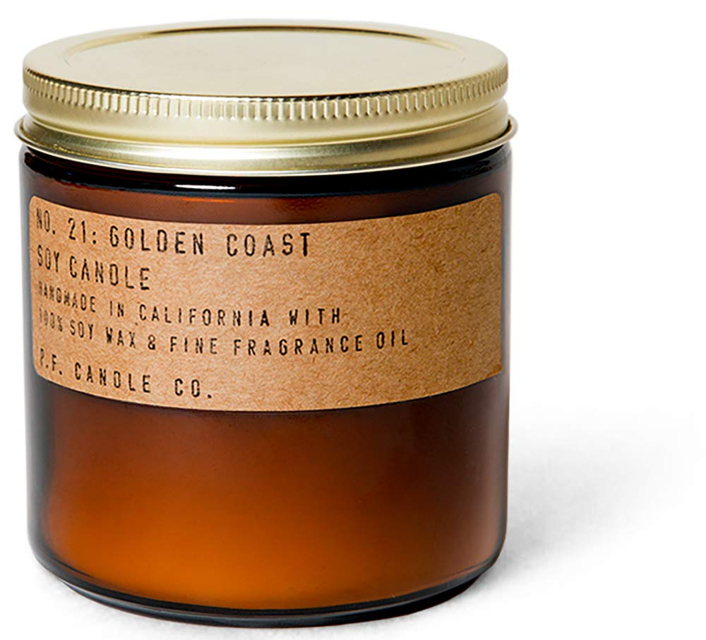 P.F. Candle Co.... - No. 21: Golden Coast Soy Candle (12.5 oz) by P.F. Candle Co.