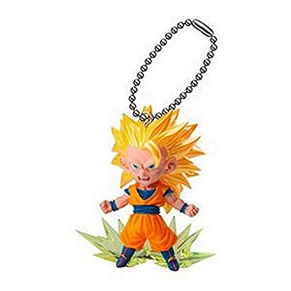 Amazon.com: Dragonball Z UDM Burst 04 Gashapon Llavero ...