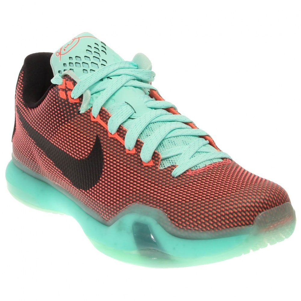 20451da957df Galleon - NIKE Men s Kobe X Basketball X Shoes-Hot Lava Black Sunset Glow  (12)