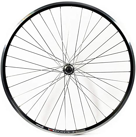 700c FRONT Road Bike Wheel Q//R Double Wall SILVER Weinman Rim