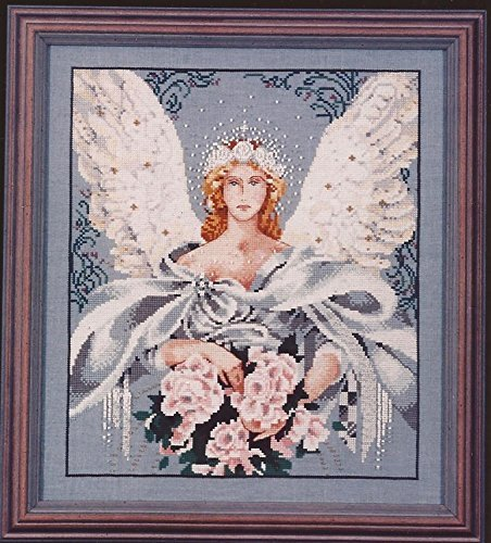 Millennium Angel - Mirabilia Counted Cross Stitch Chart MD-27 Angel Cross Stitch Chart