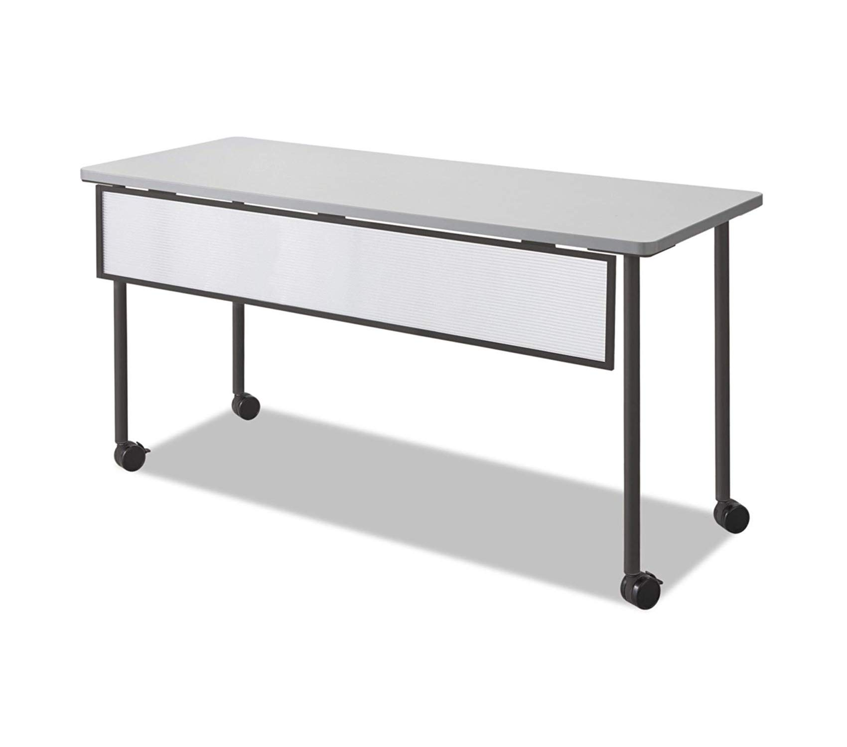 Sаfcо Prоducts Impromptu Mobile Training Table Modesty Panel for 60W Table (Table Top and Base Sold Separately), Black Frame
