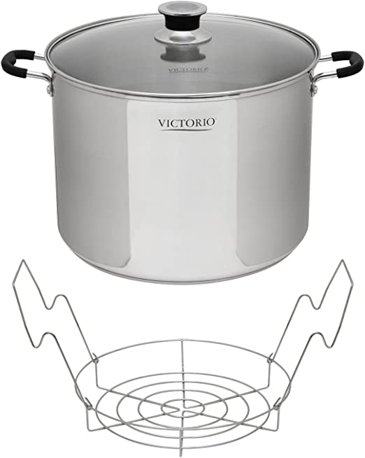 Amazon.com: Victorio VKP1130 Acero Inoxidable Canner ...