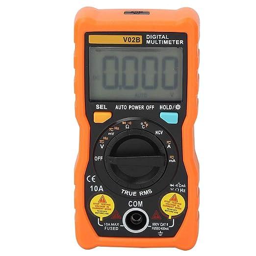 Tester transistor analogico digitale V02B Multimetro automatico ad alta precisione per la manutenzione di elettrodomestici Rosso