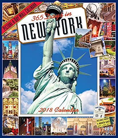 365 Days in New York Picture-A-Day Wall Calendar 2018 - Empire State Building Photographs