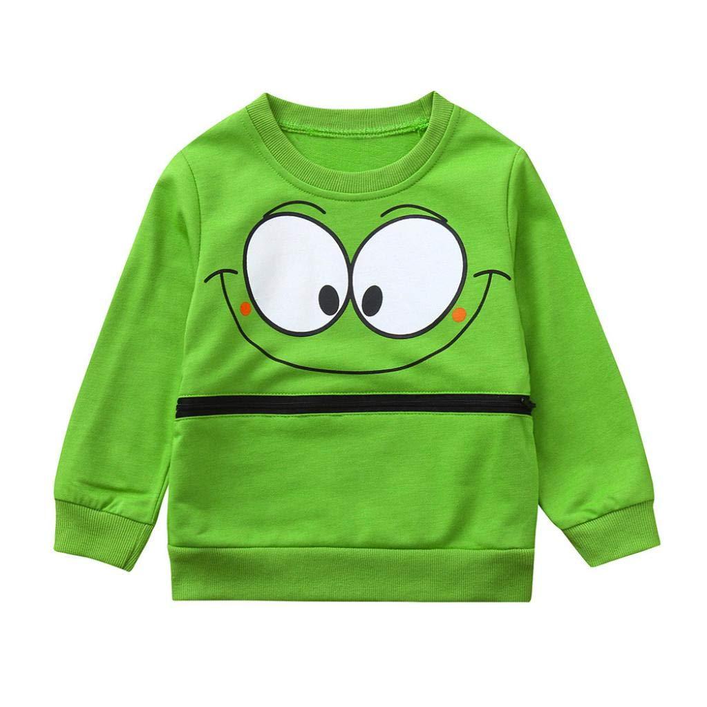 dd83a9ab264d Amazon.com  Toddler Kids Baby Girls Boys Lightweight Sweatshirt ...