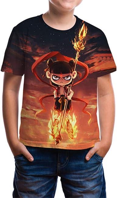 Camiseta 3D Unisex, Diseño de Estampado de Anime, Camisa ...