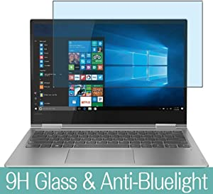 """Synvy Anti Blue Light Tempered Glass Screen Protector for Lenovo Yoga 730 15 15.6"""" Visible Area 9H Protective Screen Film Protectors"""