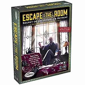 Escape The Room Board Game Dr Gravely S Retreat At Amazon