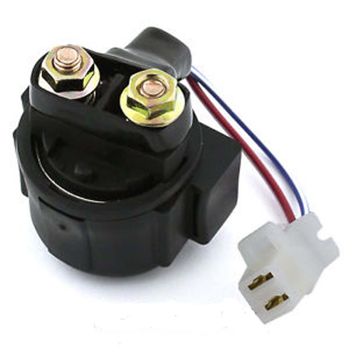 Yamaha ATV Starter Solenoid Model 50-400 / 600 Hp WSM PH375-AYA01 OEM# 3AY-81940-00-00, 3MW-81940-00-00, 3MW-81940-01-00, 4KB-81940-00-00, 4KD-81940-00-00, 5EH-81940-00-00 see description by Pwc Engine (Image #1)