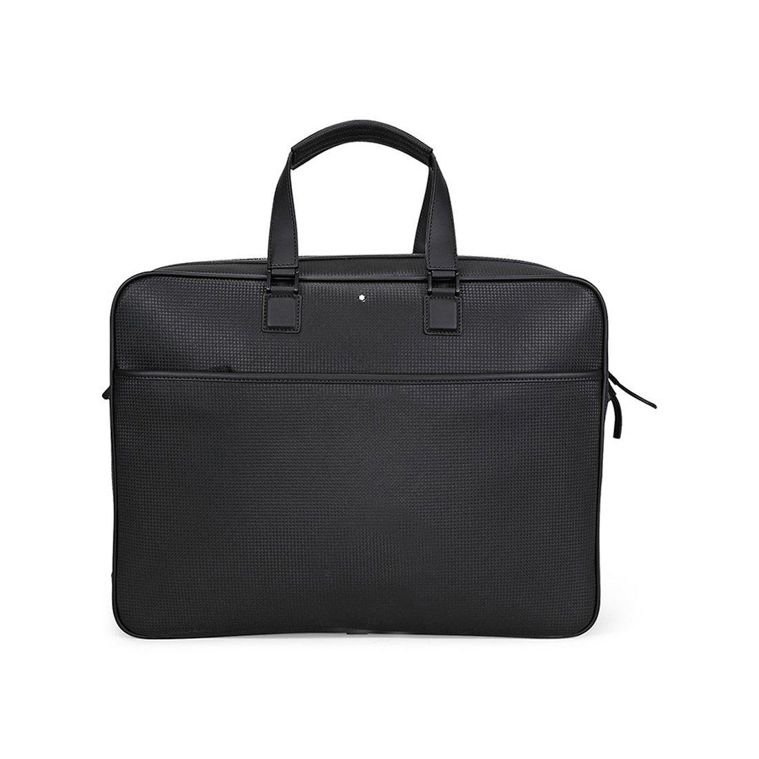 モンブラン ビジネスバッグ ウエストサイド ブラック ノートパソコン収納 カーボン Montblanc Meisterstuck Westside Extreme Document Case 111135 新品 [並行輸入品] B07B13N81K