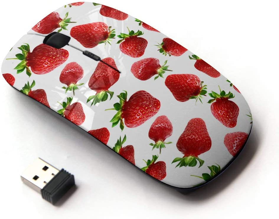 Planetar Wireless 2.4G Computer Laptop Mouse Mice/Fresh Strawberry