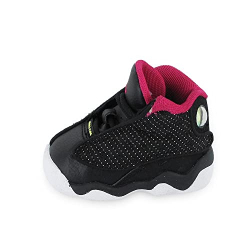 best website 5653b 877ba Air Jordan 13 XIII Retro (TD) 414581-001 (Black Voltage-