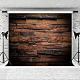 Kate 20x10ft Brown Wood Backdrop for Photography Customized Vintage Photo Studio Props