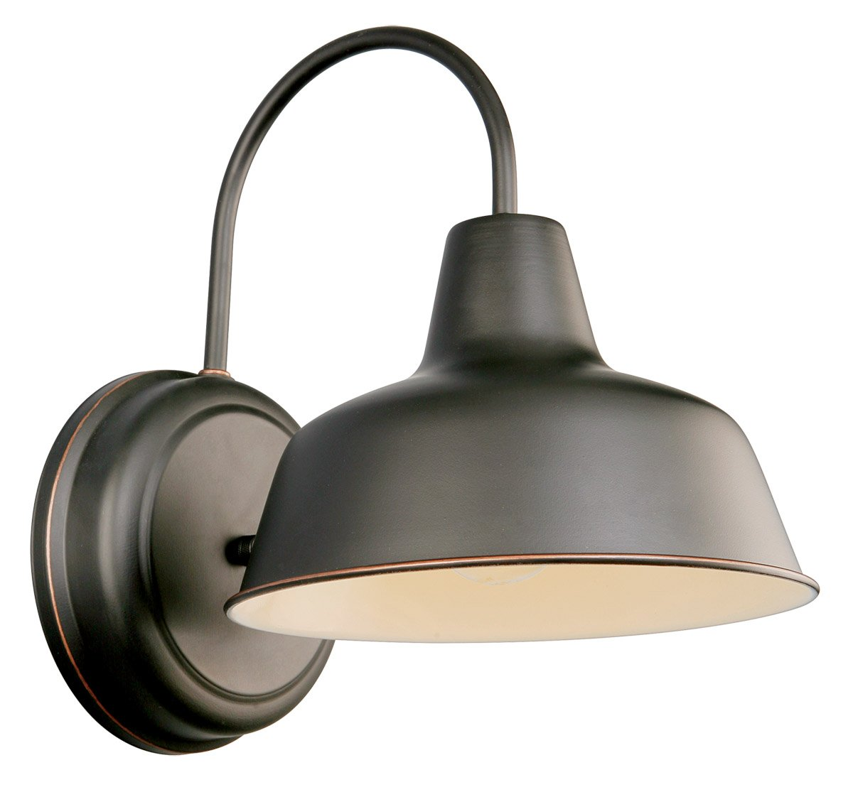 Design House 519504 Mason 1 Light Wall Light, Oil Rubbed Bronze ...