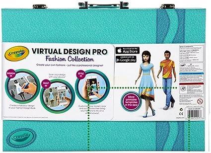 Amazon Com Crayola Virtual Design Pro Fashion Toys Games