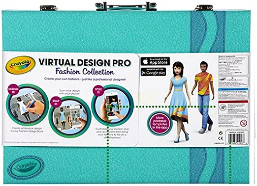 Amazon Com Crayola Virtual Design Pro Fashion Toys Games