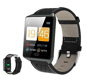 Love Life Reloj Inteligente para Hombres Y Mujeres, Monitor De Frecuencia Cardíaca/Podómetro,