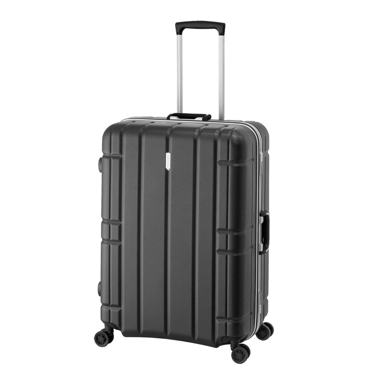 (アジアラゲージ)A.L.I アジアラゲージ MF-5017 AliMAX G 100L 大容量&軽量 スーツケース TSAロック  マットブラック B074J44YWV