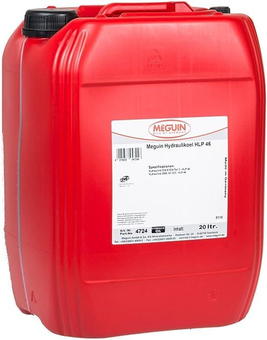 Meguin 4724 Megol Hydrauliköl Hlp 46 20 L Auto