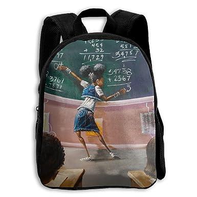 Amazon.com: Mochila escolar African American estudiante ...