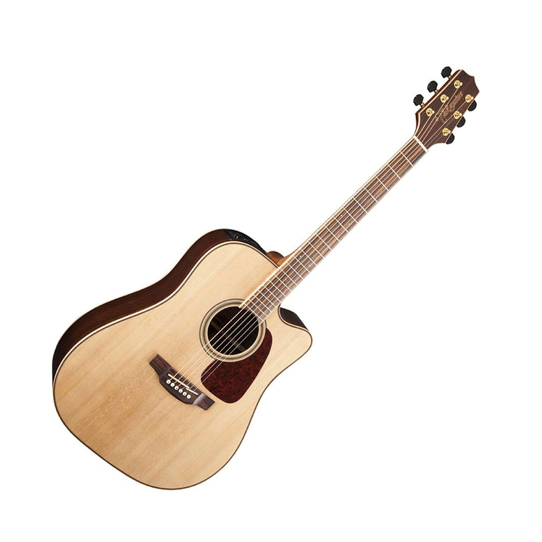 Correa para guitarra TAKAMINE gd93ce-nat 6 soportes de guitarra eléctrica acústica de cuerdas de acero de clip con afinador de guitarra, Guitarra, Guitarra, ...