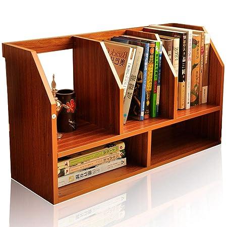 Escritorio pequeño estantería, Mesa Estante Mesa estantes de ...