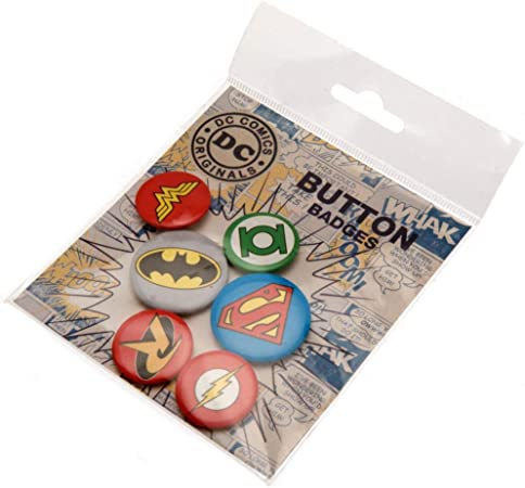 Nosoloposters GB Eye LTD, DC Comics, Logos, Pack de Chapas: Amazon.es: Hogar