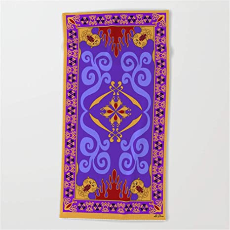 Amazon.com: Huisfa Magic Carpet Beach Towel 31x51 Inches ...