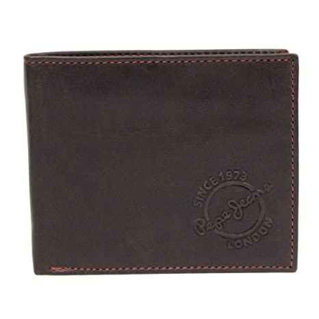 Pepe Jeans Relief Monedero, 0.12 litros, Color Marrón ...