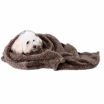 smdoxi mascota perro gato cachorro gatito suave manta cojín de huellas de perro caliente cama Mat: Amazon.es: Hogar