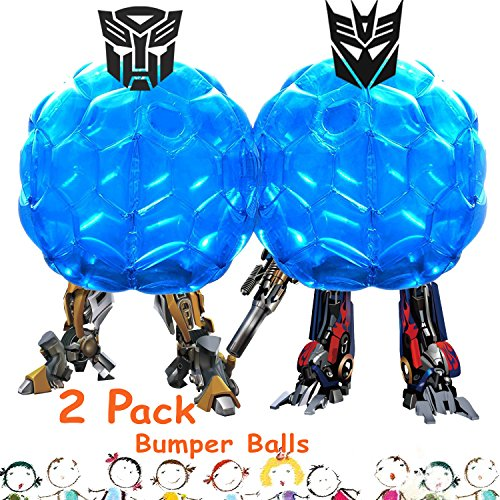 2 Pack Inflatable Bubble Soccer Included product image