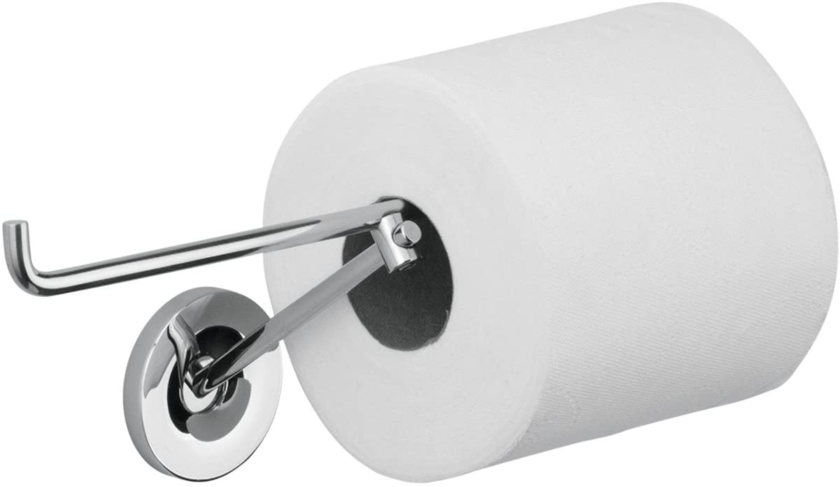 40836000 AXOR Toilet Paper Holder Easy Install 4-inch Modern Accessories in Chrome